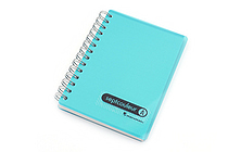 Maruman Sept Couleur Notebook - B7 - 6.5 mm Rule - Light Blue (Teal) - MARUMAN N576-52