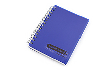 Maruman Sept Couleur Notebook - B7 - 6.5 mm Rule - Navy - MARUMAN N576-72