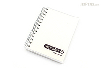 Maruman Sept Couleur Notebook - B7 - 6.5 mm Rule - Clear - MARUMAN N576-98