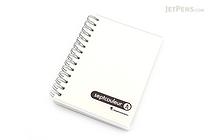 Maruman Sept Couleur Notebook - B7 - 6.5 mm Rule - Clear - MARUMAN N576-98