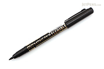 Kuretake Zig Cartoonist Mangaka Flexible Pen - Medium - Black - KURETAKE CNMM-010