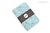 "Word Notebooks - Blue Polygon - 3.5"" x 5.5"" - Pack of 3 - WORD NOTEBOOKS BLUE PG"