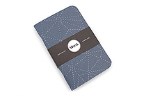 "Word Notebooks - Indigo - 3.5"" x 5.5"" - Pack of 3 - WORD NOTEBOOKS INDIGO"