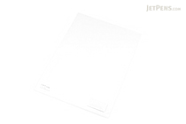 Lihit Lab Color Clear Folder - B5 - Milky White Clear - LIHIT LAB F-76-1