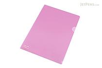 Lihit Lab Color Clear Folder - B5 - Light Purple - LIHIT LAB F-76-10