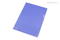 Lihit Lab Color Clear Folder - B5 - Indigo - LIHIT LAB F-76-11