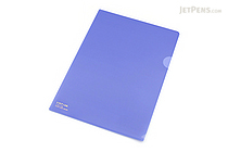 Lihit Lab Color Clear Folder - B5 - Indigo - LIHIT LAB F-76-11