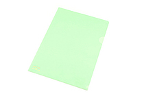 Lihit Lab Color Clear Folder - B5 - Light Green - LIHIT LAB F-76-13