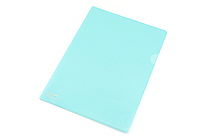 Lihit Lab Color Clear Folder - B5 - Light Blue - LIHIT LAB F-76-14