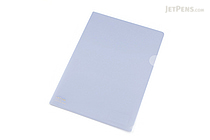 Lihit Lab Color Clear Folder - B5 - Bluish Light Purple - LIHIT LAB F-76-15