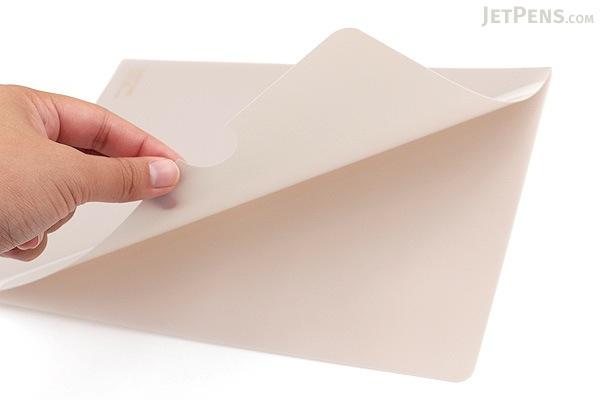 Lihit Lab Color Clear Folder - B5 - Beige - LIHIT LAB F-76-16