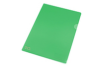 Lihit Lab Color Clear Folder - B5 - Green - LIHIT LAB F-76-7
