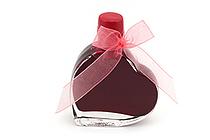 J. Herbin Fountain Pen Ink - 50 ml Heart-Shaped Bottle - Rouge Opéra (Opera Red) - J. HERBIN H152-68