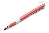 Regal 82 William Fountain Pen - French Rose Pink - Medium Nib - REGAL 82F-PIA