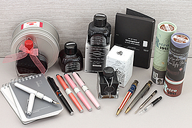 New Products: Vintage Inspired Fountain Pens, Inks, Roller Ball Pens, Notebooks, and More!