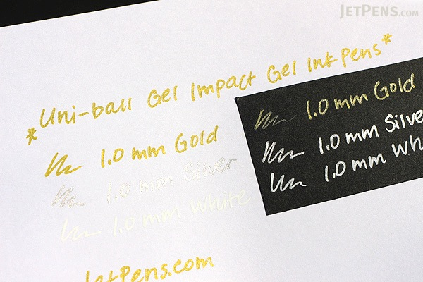 Uni-ball Gel Impact Gel Pen - 1.0 mm - 3 Color Set - UNI-BALL 1919997