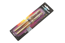 Uni-ball Gel Impact Gel Pen - 1.0 mm - Gold - Pack of 2 - UNI-BALL 1919996