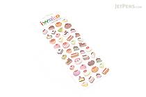 Iwako Gel Stickers - Cake - BC 09185