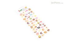 Iwako Gel Stickers - Bakery - BC 09188