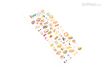 Iwako Gel Stickers - Japanese Food - BC 09190