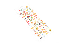 Iwako Gel Stickers - Japanese Food - BC 09190