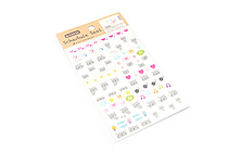 Active Removable Schedule Stickers - SB-364 Cat - ACTIVE SB-364