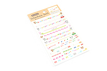 Active Removable Schedule Stickers - SB-367 Study and Vacation - ACTIVE SB-367