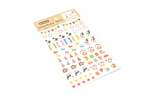 Active Removable Schedule Stickers - SB-369 Circus Birthday Party - ACTIVE SB-369