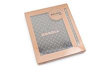Rhodia 80th Anniversary Gift Set - No. 80 Pad + Pencil - A5 - RHODIA 16080