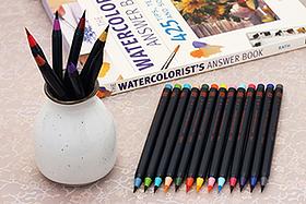 Pen Perks: Akashiya Sai Watercolor Brush Pen Pinterest Giveaway
