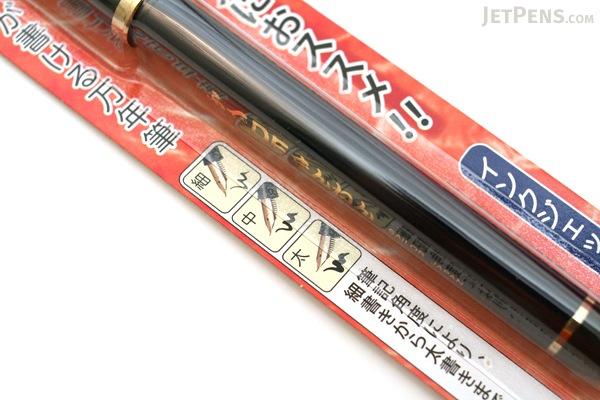 Sailor DE Brush Style Calligraphy Fountain Pen - Navy Blue - 40 Degree Nib - SAILOR 11-0127-740