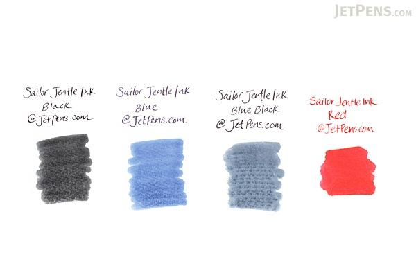 Sailor Jentle Black Ink - 12 Cartridges - SAILOR 13-0402-120