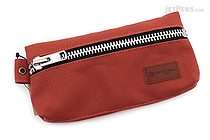 United Bees Split Pen Case - Brick Red (Dark Orange) - UNITED BEES UBM-SPN-23