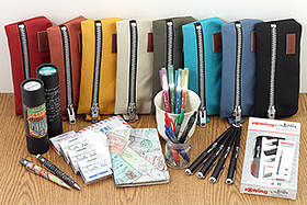 New Products: Spunky Pen Cases, Double-Sided Brush Pens, Lovely Calligraphy Pens, Fun Passport Covers, and More!