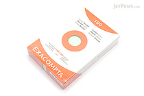 "Exacompta Record Index Cards - 4"" x 6"" - Graph - 100 Cards - EXACOMPTA 13272"
