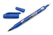 Pilot Oil-Based Twin Marker - Double-Sided - Extra Fine / Fine - Blue - PILOT MEF-12EU-L