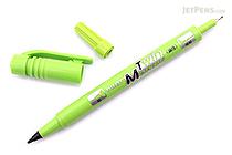 Pilot Oil-Based Twin Marker - Double-Sided - Extra Fine / Fine - Light Green - PILOT MEF-12EU-LG
