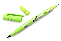 Pilot Oil-Based Twin Marker - Double-Sided - Extra Fine / Fine - Light Green - PILOT MEF-12EU-LG