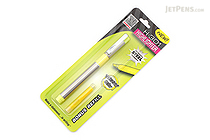 Zebra H-301 Stainless Steel Highlighter with Refill - Yellow - ZEBRA 76051
