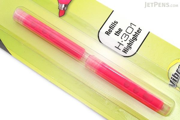 Zebra HL-Refill Highlighter Refill - Pink - 2 Cartridges - ZEBRA 87672