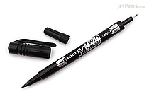 Pilot Oil-Based Twin Marker - Double-Sided - Extra Fine / Fine - Black - PILOT MEF-12EU-B