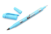 Pilot Oil-Based Twin Marker - Double-Sided - Extra Fine / Fine - Light Blue - PILOT MEF-12EU-LB