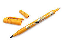 Pilot Oil-Based Twin Marker - Double-Sided - Extra Fine / Fine - Light Brown - PILOT MEF-12EU-LBN