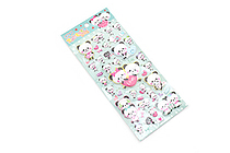 Eaki Super Soft Puffy Stickers - Panda Love - BC 10216