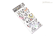 Eaki Super Soft Puffy Stickers - Ojipan Panda - BC 10217