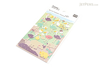 Latech Funny Sticker World Felt Stickers - Ostrich Rhino - BC 10884
