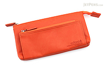 United Bees FL 4 Pocket Pen Case 3 - Orange - UNITED BEES FL-4PN3-05