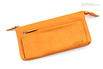 United Bees FL 4 Pocket Pen Case 3 - Mustard - UNITED BEES FL-4PN3-08
