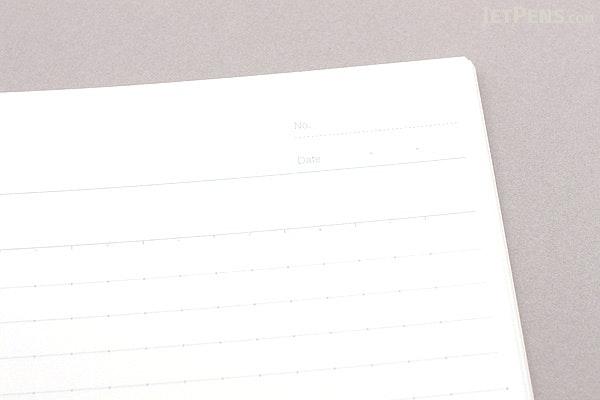 Kokuyo Campus Adhesive-Bound Notebook - A4 - Dotted 7 mm Rule - KOKUYO NO-201AT