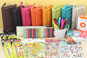 New Products: Colorful Markers, Pen Cases, Index Cards, Stickers, and More!